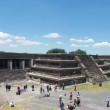 Pirmide de la Luna in Teotihuacan — Photo