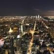 New York city night scene — Foto Stock