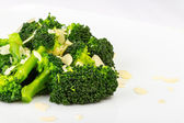 Salad of broccoli — Stock Photo