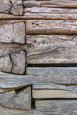 Weathered wooden wall — Stockfoto