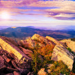 Rocky ledge at the mountain top — Stock Photo