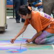 Pasadena Chalk Festival - Stock Photo