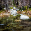 Stock Photo: Placid Waters at Chantry Flats