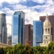 Downtown Los Angeles Skyline — Stock Photo