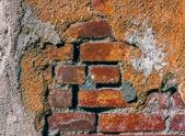 Brick and Adobe Wall Backdrop — Stock Photo
