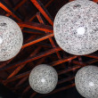Stock Photo: Orbital Decorative Ceiling Lights
