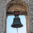 Mission Bell at Mission SJuCapistrano — Stockfoto #14219655