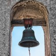 Mission Bell at Mission San Juan Capistrano — Stock Photo