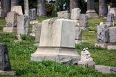 Nagrobków na cmentarzu rosedale angules — Zdjęcie stockowe