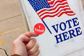 I Voted! — Stock Photo
