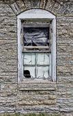 Edificio militar abandonado — Foto de Stock
