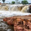 The Falls of the Big Sioux River - Stock Photo