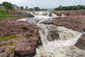 The Falls of the Big Sioux River — Stock Photo