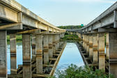 Highway Over the River — Stock Photo