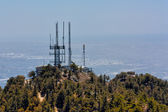 Telecommunication Towers at Mount Wilson Observatory — Stock Photo