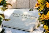 Burial Place of Ronald Reagan at The Ronald Reagan Presidential — Stock Photo