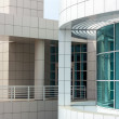 Spectacular Architecture of the Getty Center - Stock Photo