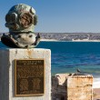 Stock Photo: Cannery Divers Memorial