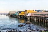 Fisherman's Wharf at Monterey Bay, California — Stock Photo