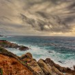 Stock Photo: CaliforniCentral Coast at Big Sur