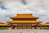 At Hsi Lai Temple, the largest traditional Chinese Buddhist monastery in the United States — Foto Stock
