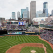 Stock Photo: Target Field in Dowtown Minneapolis
