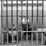 Prison Cell at Alcatraz Island Cell Block A — Stock Photo