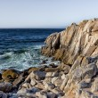 Ocean Waves at Lover's Point in Pacific Grove — Stock Photo