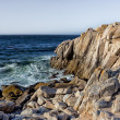 Ocean Waves at Lover's Point in Pacific Grove — Stock Photo #22818866