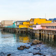 Stock Photo: Fisherman's Wharf at Monterey Bay, California