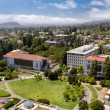Stock Photo: Overhead Panormof University of Californiat Berkeley.