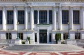 伯克利大学图书馆 — 图库照片