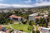 Overhead Panorma of the University of California at Berkeley. — Stock Photo