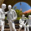 "Stock Photo: Painted Bronzes Entitled ""Gay Liberation"" by George Segal"