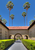 Stanford Memorial Court — Stock Photo