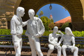 "Painted Bronzes Entitled ""Gay Liberation"" by George Segal — Stock Photo"