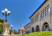 Jordan Hall on the Campus of Stanford University. — Stock Photo