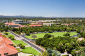 Overhead View of Stanford University — Stock Photo