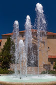 Stanford Hoover Tower Fountain — Stock Photo
