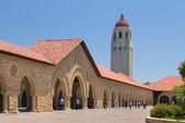 Stanford Courtyard — Stock Photo