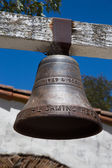 Mission Bell on Mission Trail — Stock Photo