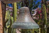 San Juan Bautista Mission Bell — Stock Photo
