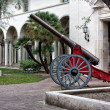 Landmark Cannon at Caltech — Stock Photo