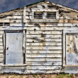 Stockfoto: Dilapidated Exterior Wood Wall