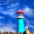 Lighthouse Against Blue Sky — Stock Photo #29972289