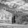 Stock Photo: Abandoned Barracks at Fort Ord