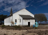 Abandoned Chapel at Historic Fort Ord — Stock Photo