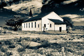 Abadoned East Garrison Chapel at Fort Ord — Stock Photo