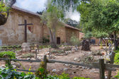 Native American Burial at Carmel Mission — Stock Photo