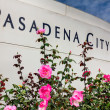Stock Photo: PasadenCity College Sign